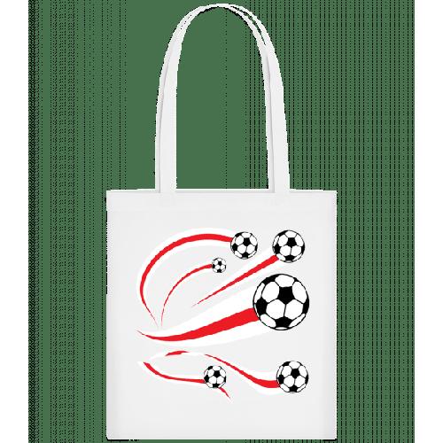 England Fahnen Fußball - Stoffbeutel