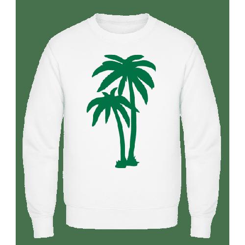 Zwei Palmen - Männer Pullover