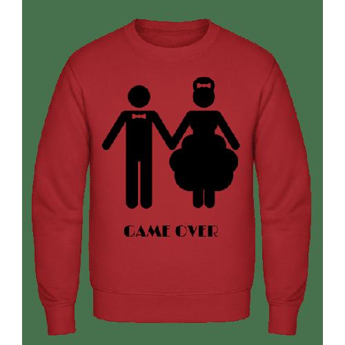 Game Over Wedding - Männer Pullover