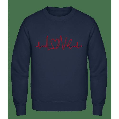 Herzfrequenz - Männer Pullover