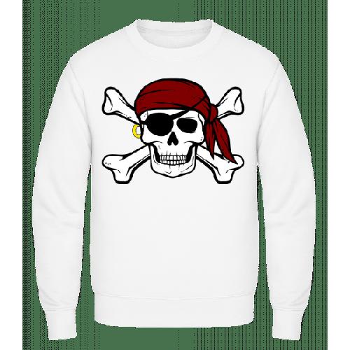 Piraten Totenkopf - Männer Pullover