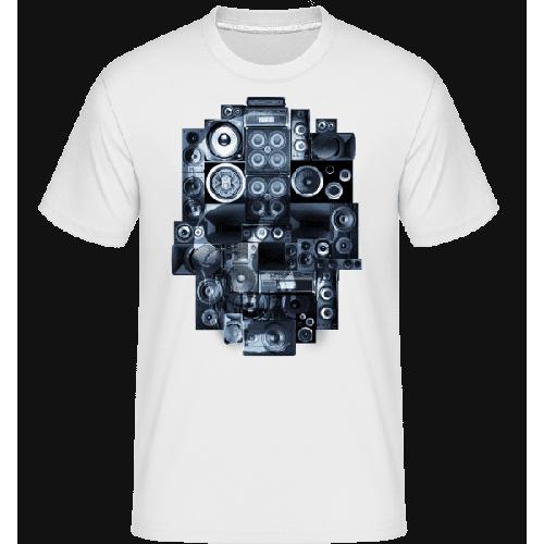 Ghettoblaster Totenschädel - Shirtinator Männer T-Shirt