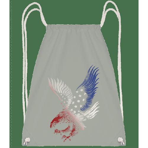 Amerikanischer Adler - Turnbeutel