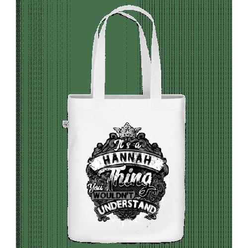 It's A Hannah Thing - Bio Tasche