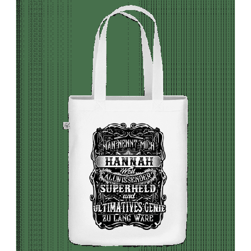 Man Nennt Mich Hannah - Bio Tasche