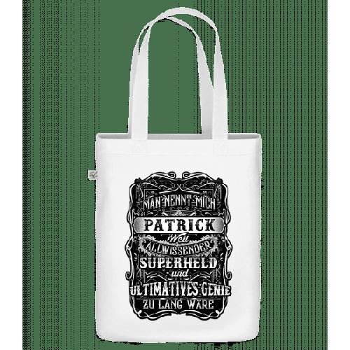 Man Nennt Mich Patrick - Bio Tasche