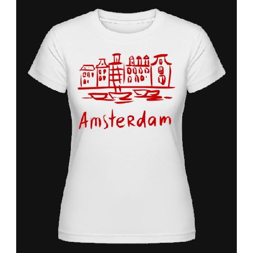 Amsterdam Chinesischer Stil - Shirtinator Frauen T-Shirt