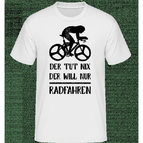 Der Tut Nix Nur Radfahren - Shirtinator Männer T-Shirt
