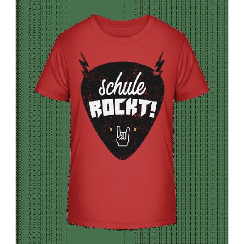 Schule Rockt - Kinder Premium Bio T-Shirt