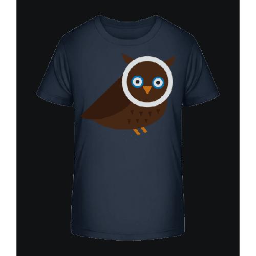 Eule Bild - Kinder Premium Bio T-Shirt