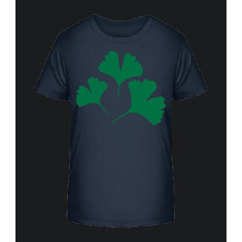 Pflanze Symbol - Kinder Premium Bio T-Shirt