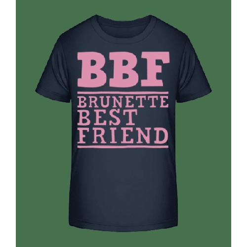 bff Brunette Best Friend - Kinder Premium Bio T-Shirt