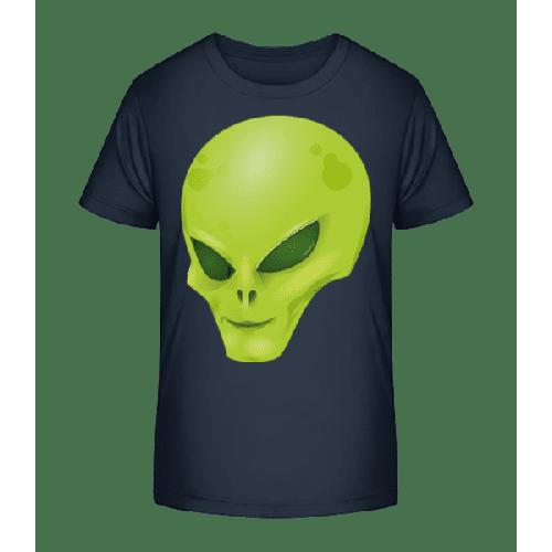 Alien Kopf - Kinder Premium Bio T-Shirt