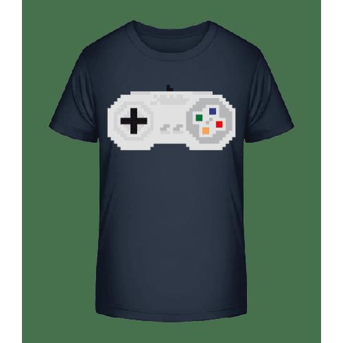 Konsolen Controller Oldschool Pi - Kinder Premium Bio T-Shirt