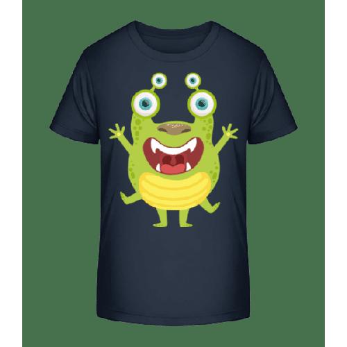 Alien Frosch - Kinder Premium Bio T-Shirt