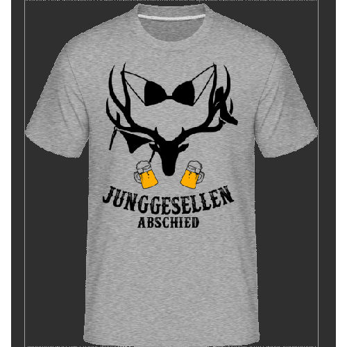 Junggesellenabschied BH-Hirsch - Shirtinator Männer T-Shirt