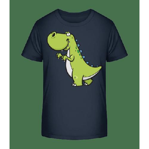 Lustiger Comic Dinosaurier - Kinder Premium Bio T-Shirt