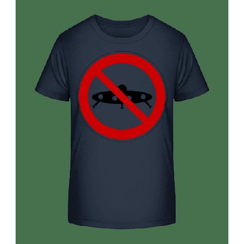 Ufos Verboten - Kinder Premium Bio T-Shirt