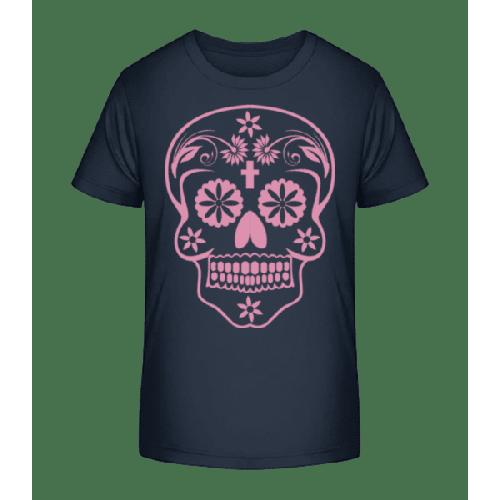 Día de los Muertos Schädel - Kinder Premium Bio T-Shirt