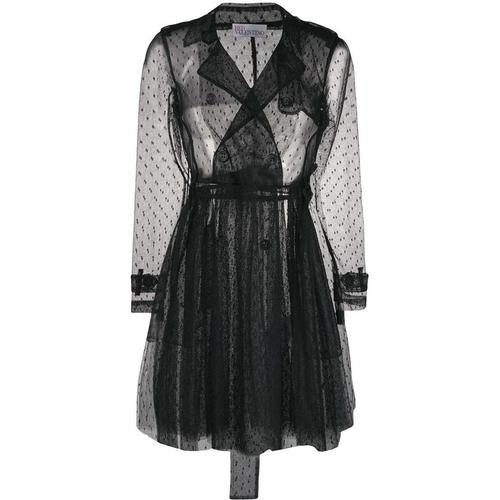 RED Valentino Semi-transparenter Mantel