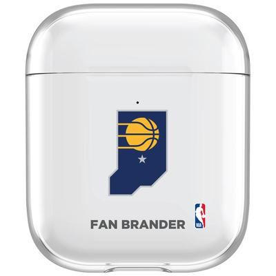 """""""Indiana Pacers Air Pods Clear Case"""""""