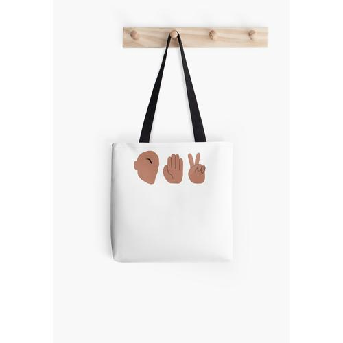 Schere, Stein, Papier Tasche