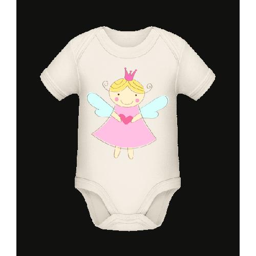 Kleine Fee Prinzessin - Baby Bio Strampler