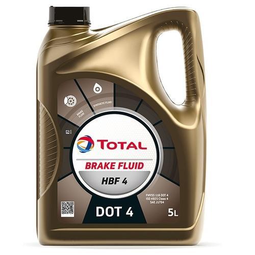 Bremsflüssigkeit 'HBF 4 (5 L)' | Total, Inhalt: 5 Liter, Trockensiedepunkt: 155 °C