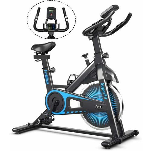 Indoor Fahrrad mit 6KG Schwungrad, Heimtrainer Fahrrad mit einstellbarem Widerstand,