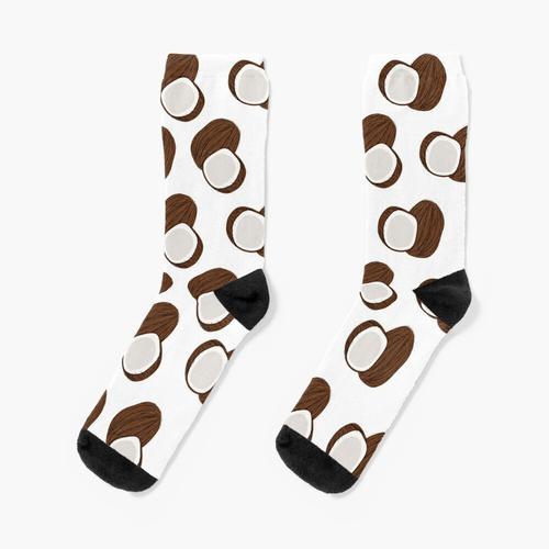Kokosnussmuster Socken