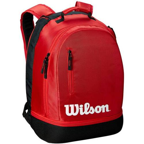 """WILSON Tennisrucksack \""Team\"""", Größe ONE SIZE in BLACK/RED"""