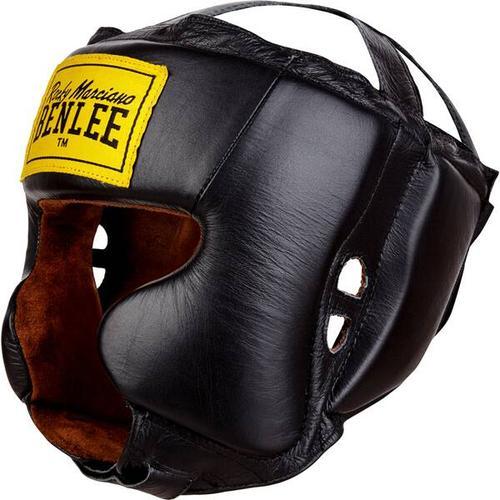 BENLEE Kopfschutz aus Leder TYSON, Größe L-XL in Red