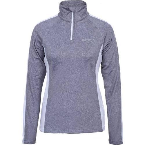 ICEPEAK Damen Shirt FRANCONIA, Größe M in HELL GRAU