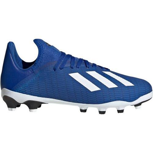 ADIDAS Kinder Fußballschuhe Rasen, Kunstrasen X 19.3 MG J, Größe 35 ½ in Blau