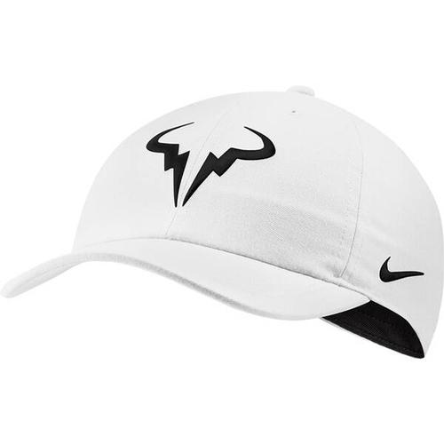 NIKE Cap RAFA AROBILL H86, Größe ONE SIZE in WHITE/BLACK