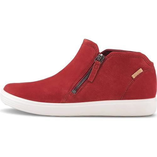 Ecco, Boots Soft 7 W in rot, Boots für Damen Gr. 36