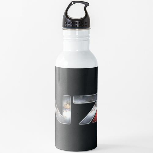 N7 Mass Effect Galaxy Logo Wasserflasche