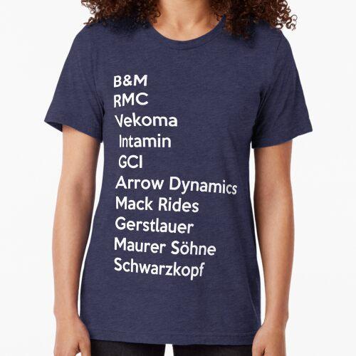Rollercoaster Manufacturers Tri-blend T-Shirt