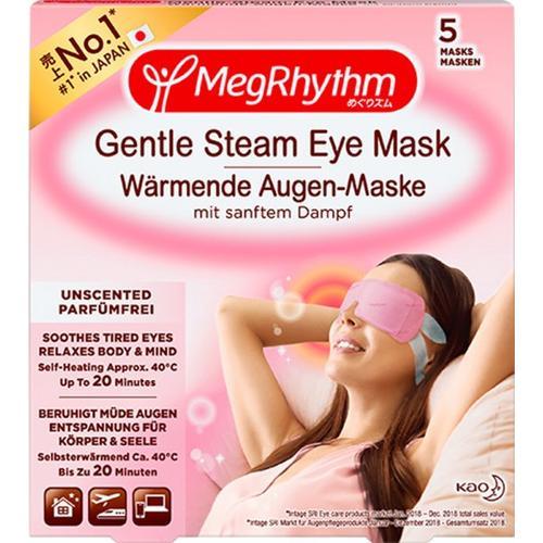 MegRhythm Wärmende Augen-Masken - Parfumfrei - 5 Stk. Augenmaske
