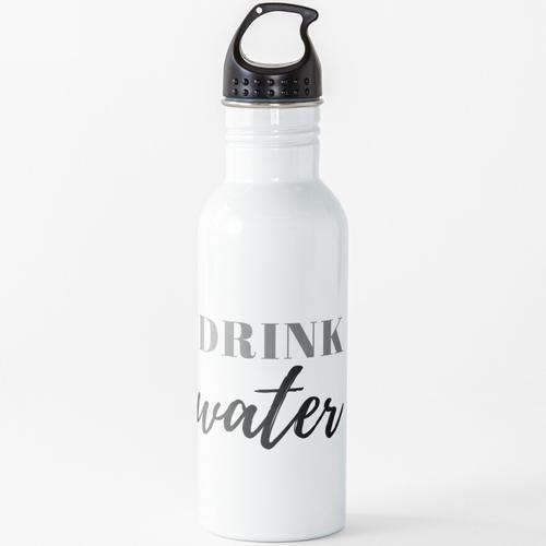 Trinkwasser Erinnerung Wasserflasche