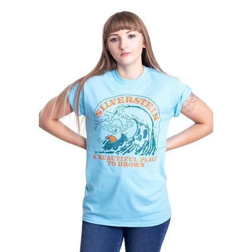 Silverstein - Cartoon Sky Blue - - T-Shirts