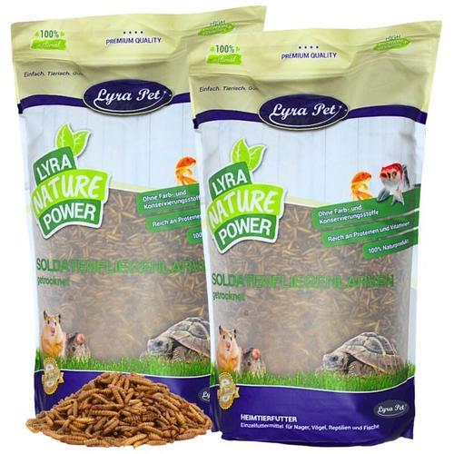 5 kg ® Soldatenfliegenlarven - Lyra Pet