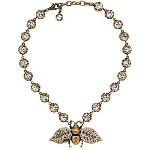 Gucci Halskette mit Kristallen
