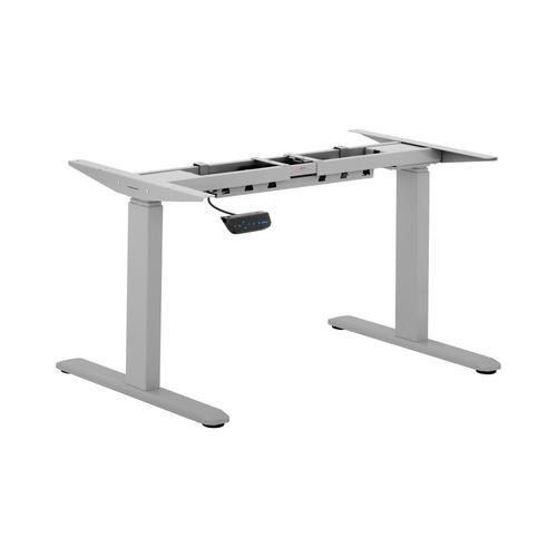 Fromm & Starck Höhenverstellbares Schreibtischgestell - 200 W - 100 kg - grau STAR_ATFE_02
