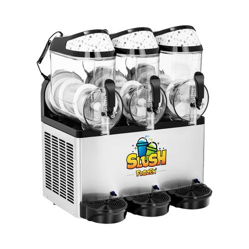 Royal Catering Slush-Maschine - 3 x 10 l - LED RCSL 3/10