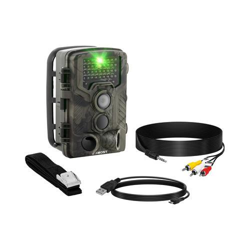 Stamony Wildkamera - 8 MP - Full HD - 42 IR-LEDs - 20 m - 0,3 s ST-HC-8000B