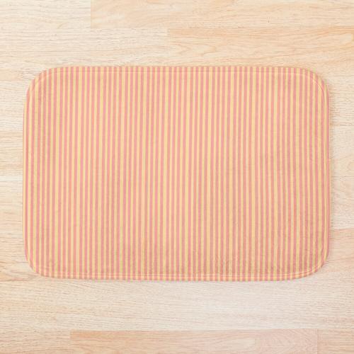 Erdbeer-Limonaden-Muster Badematte