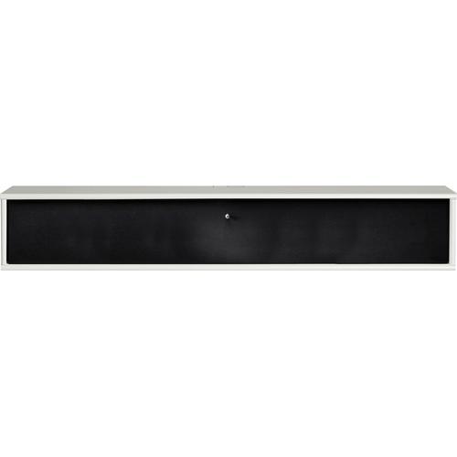 hammel Media-Board MISTRAL, Klapptür mit Akustikstoff, Danish Design weiß Lowboards Kommoden Sideboards