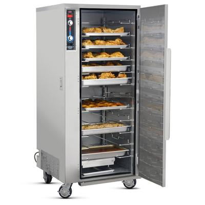 FWE MTU-12 Full Height Insulated Mobile Heated Cabinet w/ (12) Pan Capacity, 120v