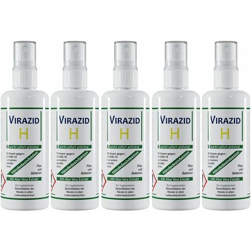 Handdesinfektion Virazid H Desinfektionsmittel Handdesinfektionsmittel begrenzt viruzid gegen Viren